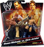 WWE Battle Packs 1 Shawn Michaels & Chris Jericho