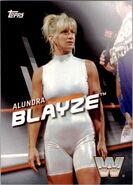 2016 WWE Divas Revolution Wrestling (Topps) Alundra Blayze 4