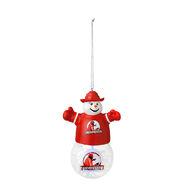 Brodus Clay Snowman Light Up Ornament