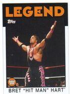 2016 WWE Heritage Wrestling Cards (Topps) Bret Hart 75