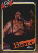 2008 WWE Heritage III Chrome Trading Cards Big Daddy V 43