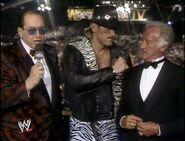 WWE-WWF Wrestlemania-IV-1988 Gorilla-Monsoon Jesse-thebody-Ventura Bob-Ucker