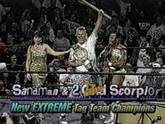 Scorpio Sandman ECW World Tag