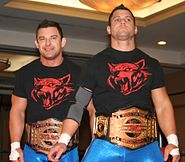 Wolves TNA Tag Team Champions Aug 2014