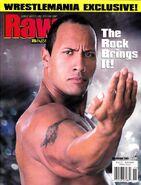 Raw Magazine November 2001