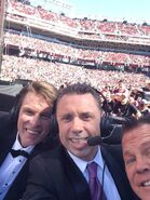 Michael Cole, Jerry Lawler & JBL - WrestleMania 31