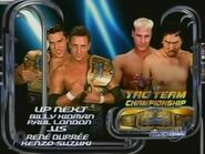 Billy Kidman Paul London vs Rene Dupree Kenzo Suzuki