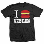 Cheeseburger Wrestling Shirt