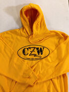 CZW Gold Hooded Sweatshirt