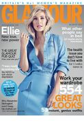 Ellie Goulding - Glamour Aug 2014