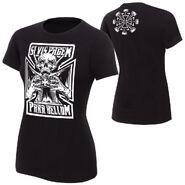 Triple H Prepare For War women T-Shirt
