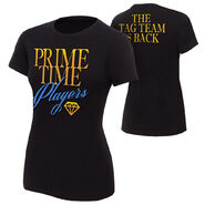 Prime Time Players The Tag Team is Back Women's Authentic T-Shirt