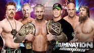 EC 2014 Elimination Chamber Match