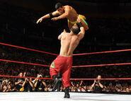 RAW 8-27-07 Tag Team match