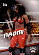 2016 WWE Divas Revolution Wrestling (Topps) Naomi 27