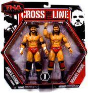 TNA Cross the Line 1 James Storm & Robert Roode