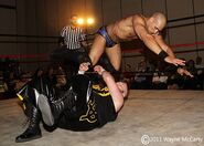 Craven Knyte in ring action 3