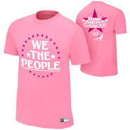 Jack Swagger Rise Above Cancer Pink T-Shirt