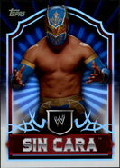 2011 Topps WWE Classic Wrestling Sin Cara 62