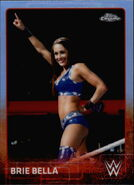2015 Chrome WWE Wrestling Cards (Topps) Brie Bella 11