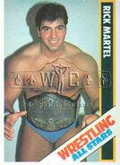 1985 Wrestling All Stars Trading Cards Rick Martel 3