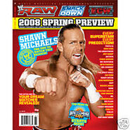 Shawn michaels raw mag