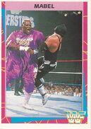 1995 WWF Wrestling Trading Cards (Merlin) Mabel 146