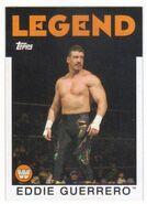 2016 WWE Heritage Wrestling Cards (Topps) Eddie Guerrero 80