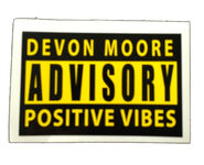 Devon Moore Advisory Decal