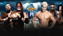 WM 29 Tag Team Title Match