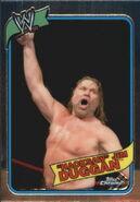 2008 WWE Heritage III Chrome Trading Cards Hacksaw Jim Duggan 30