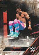 2016 WWE (Topps) Then, Now, Forever Kofi Kingston 129