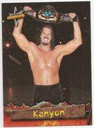 1999 WCW Embossed (Topps) Kanyon 34