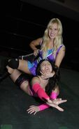 Shazza McKenzie in-ring action