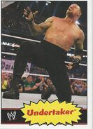 2012 WWE Heritage Trading Cards Undertaker 42