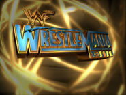 WrestleMania 17 logo