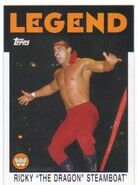 2016 WWE Heritage Wrestling Cards (Topps) Ricky Steamboat 96
