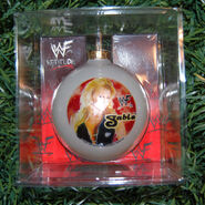 1999 WWF Sable Ornament