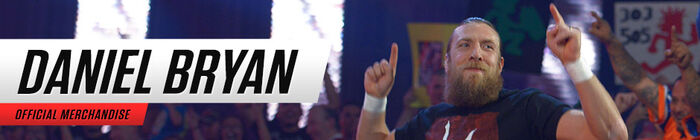 Daniel Bryan - Merch Banner 2015
