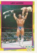 1995 WWF Wrestling Trading Cards (Merlin) Lex Luger 117