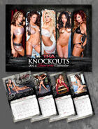 Official TNA 2014 TNA Knockouts Calendar