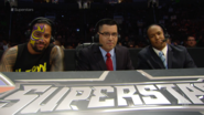 Rich Brennan, Byron Saxton and Jimmy Uso