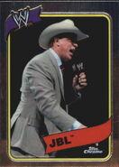 2008 WWE Heritage III Chrome Trading Cards JBL 25