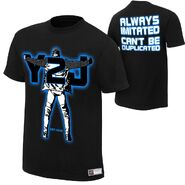 Chris jericho can t be duplicated authentic t-shirt