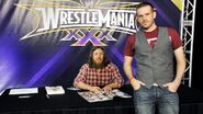 WrestleMania 30 Axxess Day 3.17