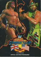 SummerSlam 1992 Programme