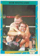1995 WWF Wrestling Trading Cards (Merlin) Bob Backlund 165