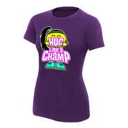 Bayley Hug Like A Champ Women's V-Neck Authentic T-Shirt