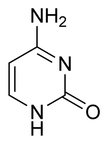 File:Cytosine chemical structure.png