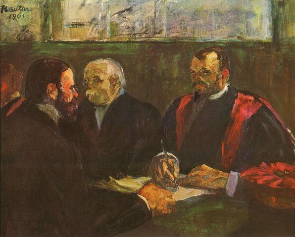File:Get lautrec 1901 examination at faculty of medicine.jpg